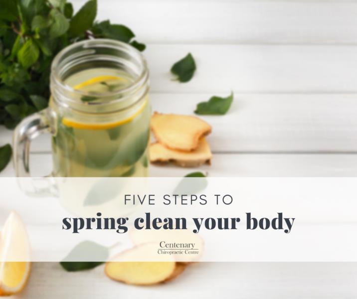 Five steps to Spring clean your body for Summer