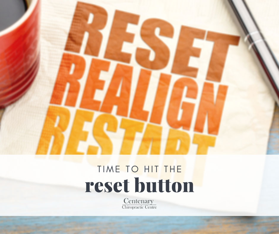 Time to hit the reset button with Chiropratic Care